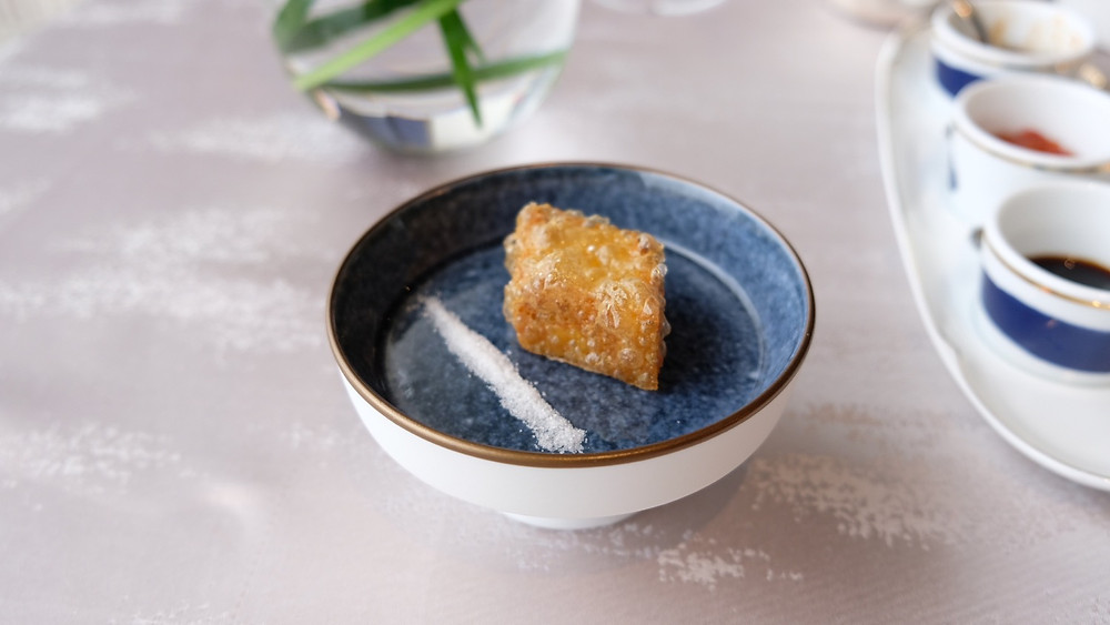 Matsutake Custard   Man Wah Mandarin Oriental Hong Kong