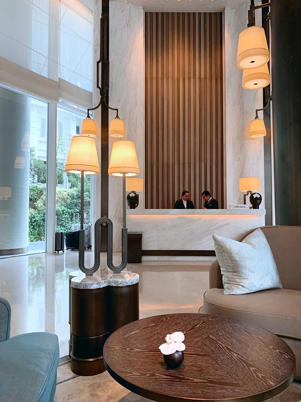 The Waldorf Astoria Bangkok   Lobby