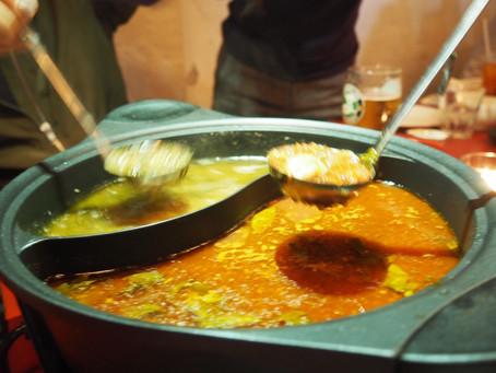 Chinese-Italian Hot Pot at Linguini Fini: Most Interesting Dinner 2017?