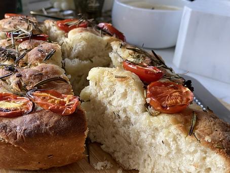 [Recipe] Rosemary Garlic Focaccia
