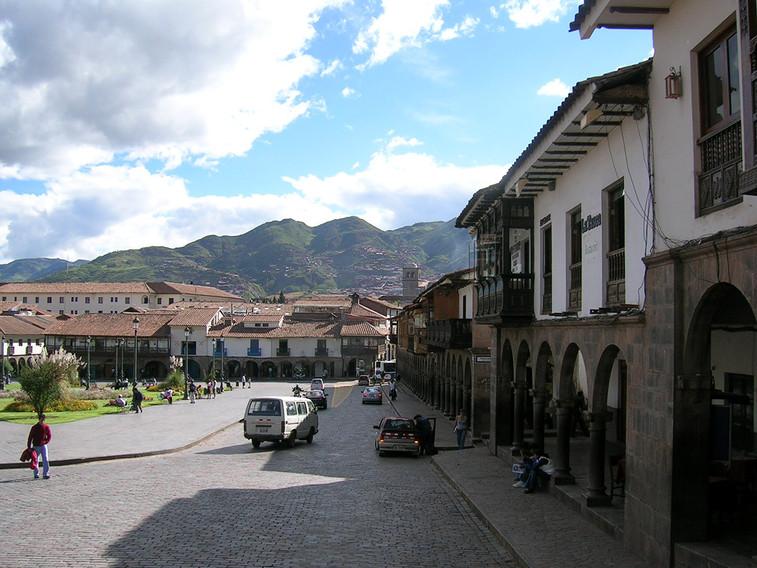 De Plaza de Armas van Cusco