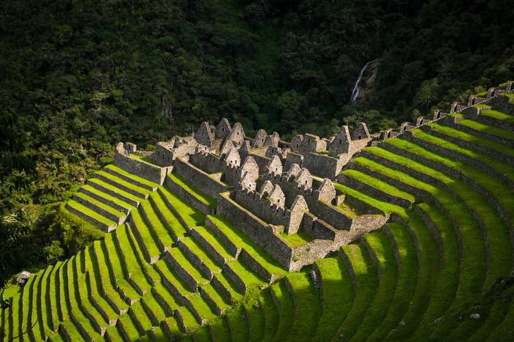 De ruines van Winay Wayna