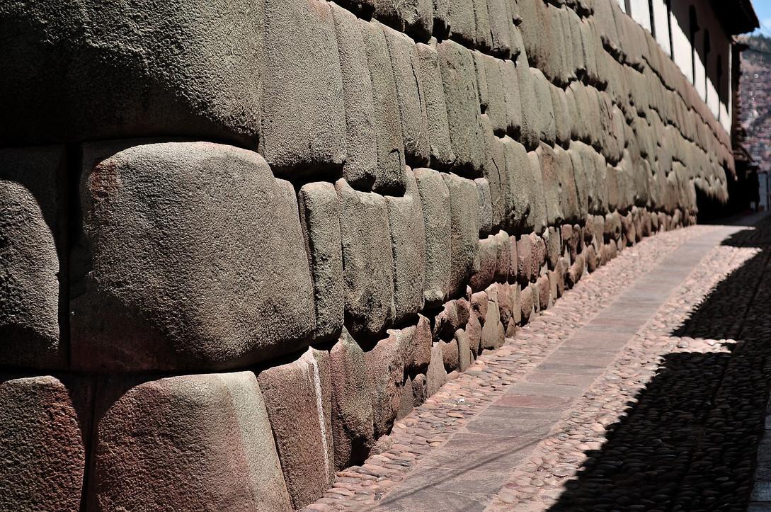 Straat in Cusco