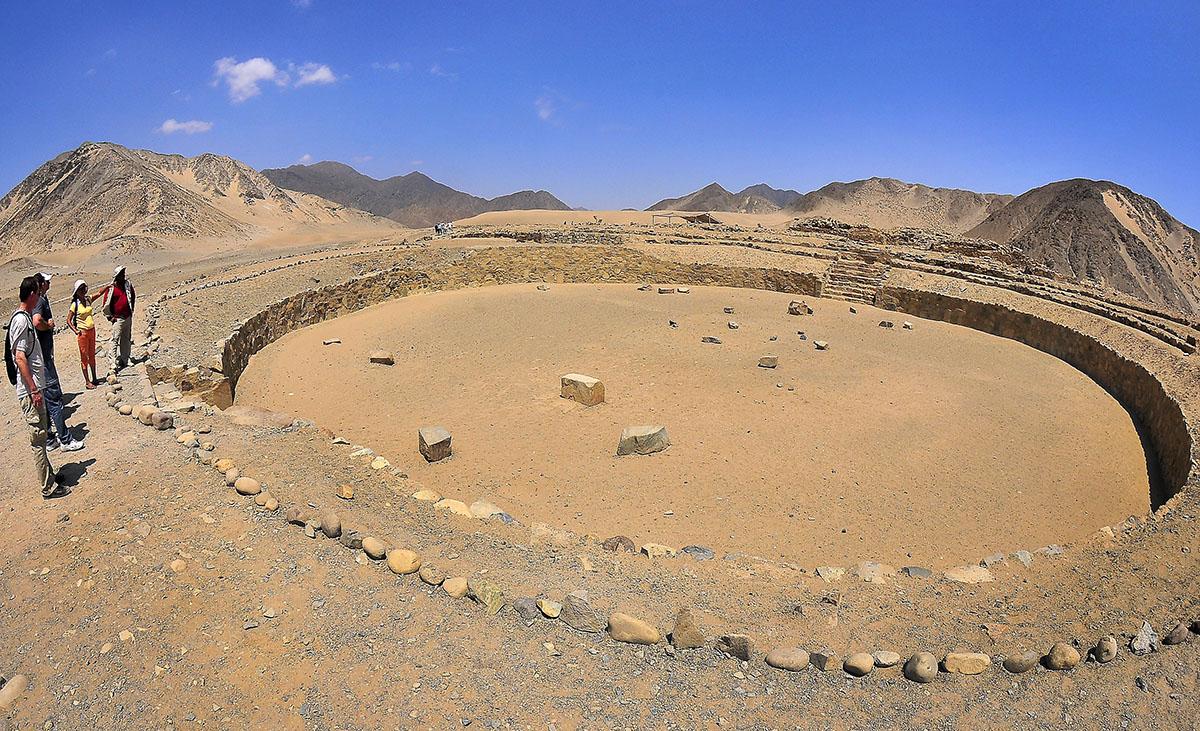Amfiteatrum in Caral