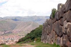 Uitzicht op Cusco vanaf Sacsayhuaman