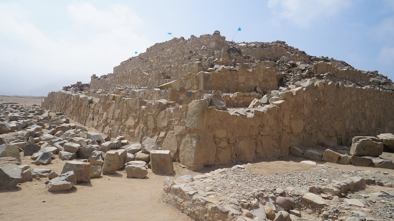 Piramide in Caral