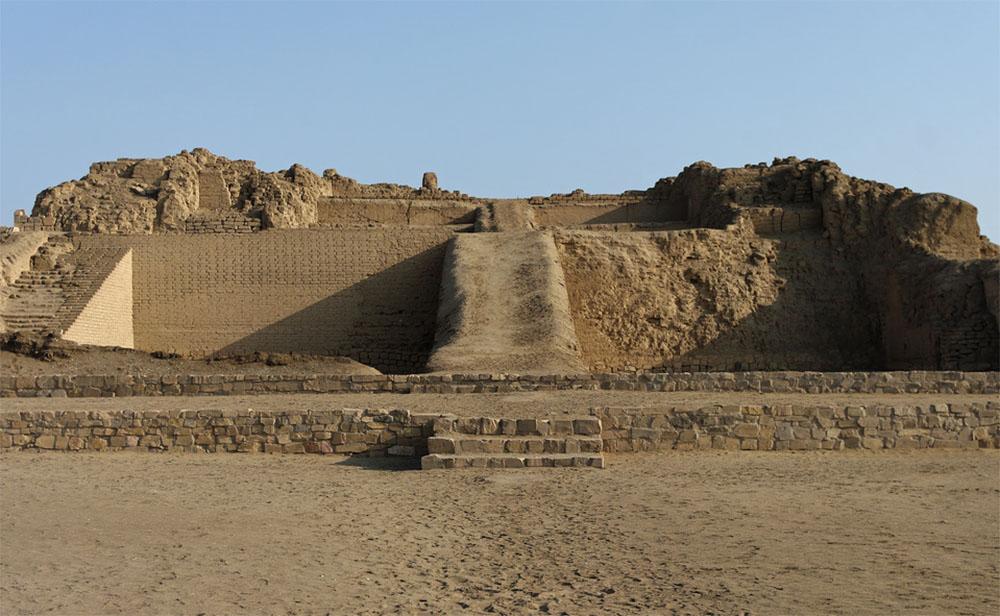 De tempel van Pachacamac