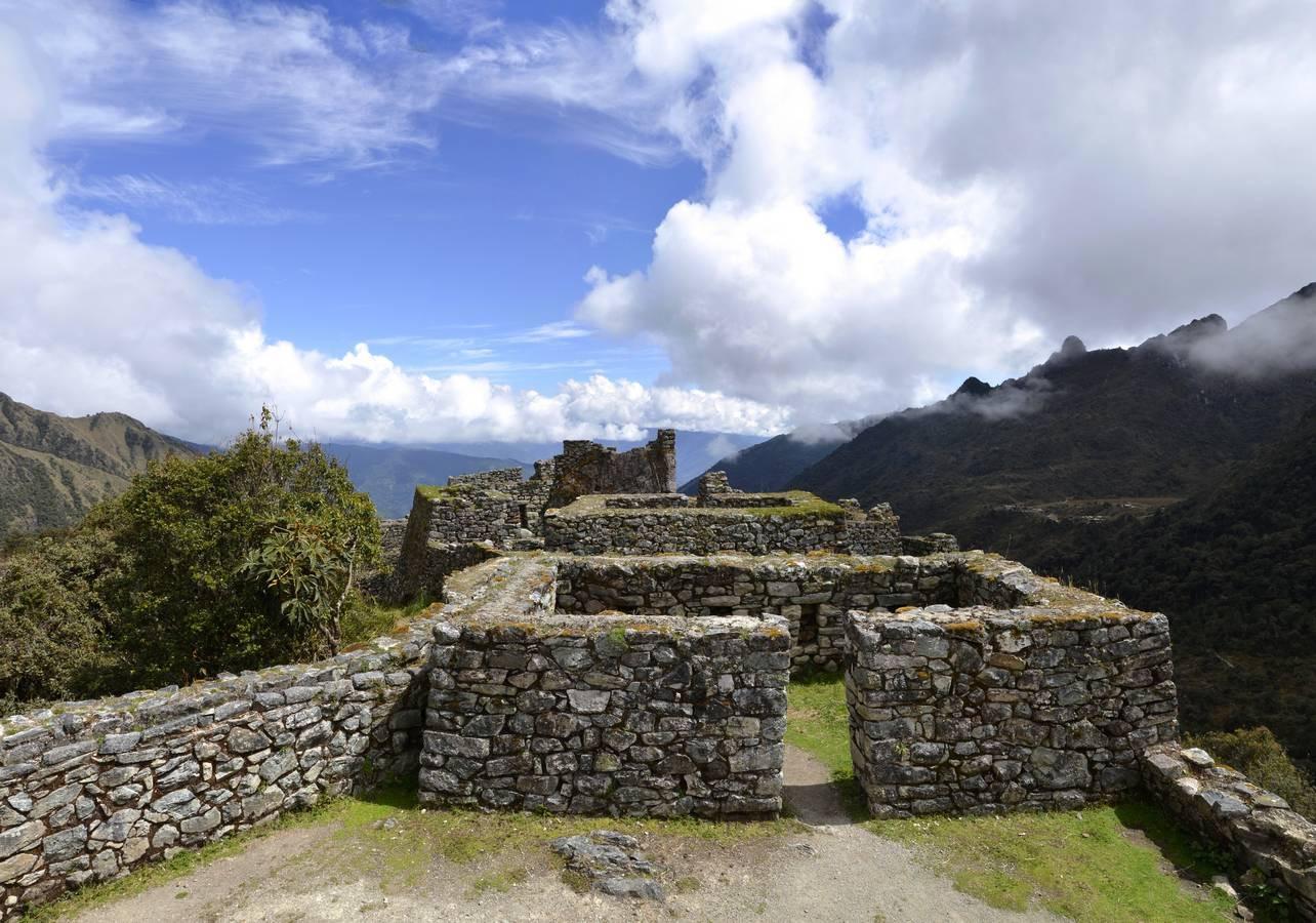 De ruines van Runkurakay