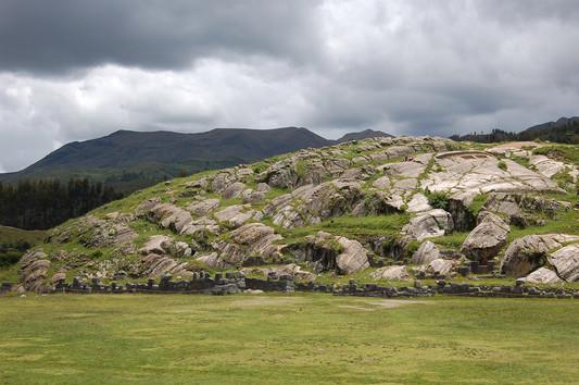 Steenformaties bij Sacsayhuaman