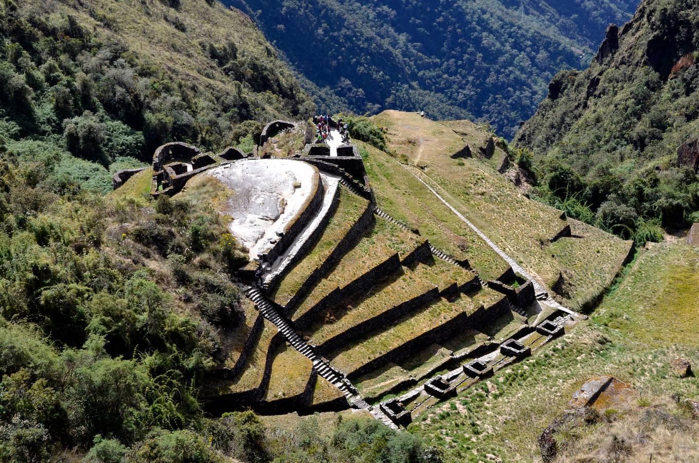De ruines van Phuyapatamarca