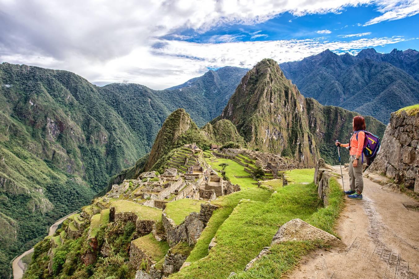 Uitzicht op Machu Picchu