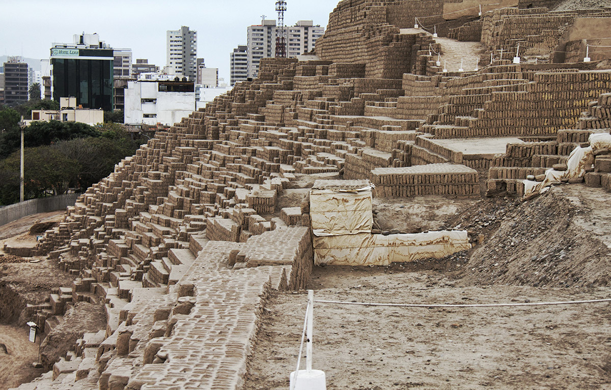 Huaca Pucclana in Lima