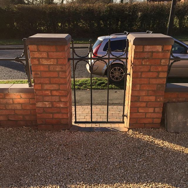 Gate from latest job #tjcartistblacksmit