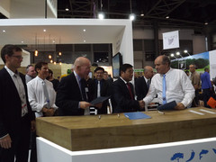 An agreement was signed during the exhibition for the general management of the Sino-Israeli modern