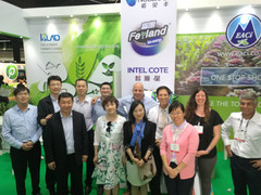 A joint team of the three companies: Eisenberg Agri Company, kingenta International and KLAD at the