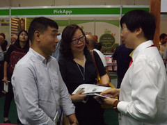 Some 40,000 people visited the Agritech exhibition