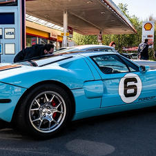 GT 40 Gulf au GDL Mustang Ride 2021