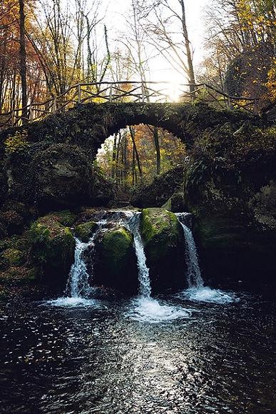 Cascade - Schiessentumpel Mullerthal Lux