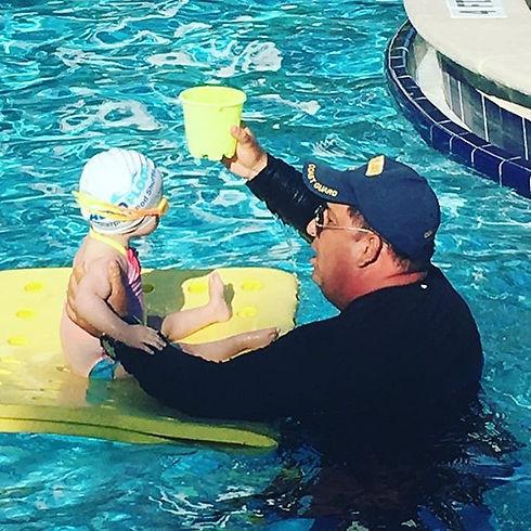 Persephone started swim therapy yesterda