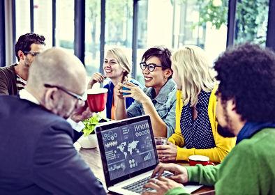 Marketing teamvergadering