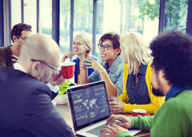 équipe marketing réunion