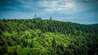 Fichtelberghaus auf dem Fichtelberg im Erzgebirge