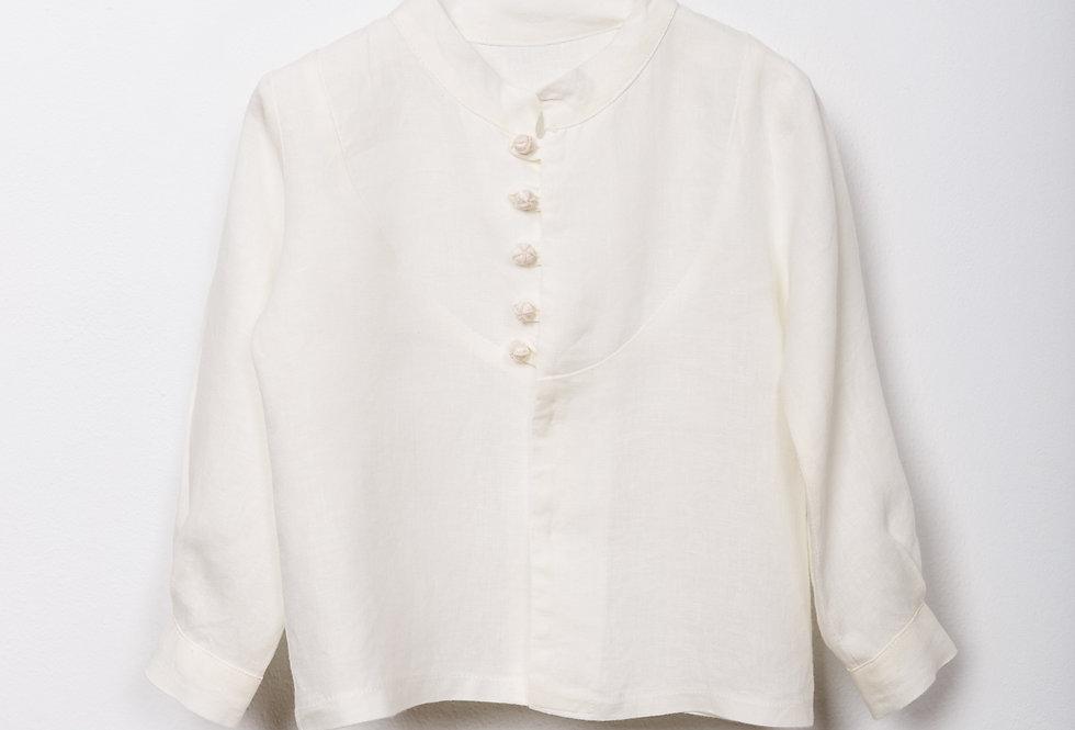 Camisa Lino Natural Rustic