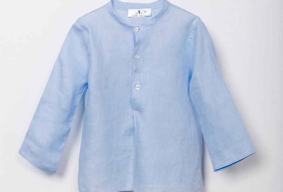 Camisa bebé lino Greenwich