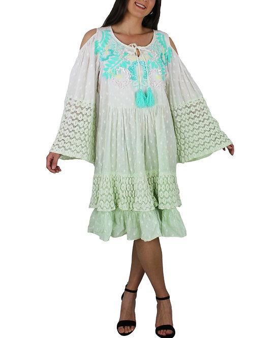Vestido Aguamarina.