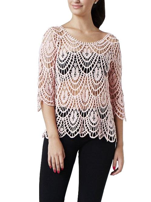 Camiseta Lisse rosa.