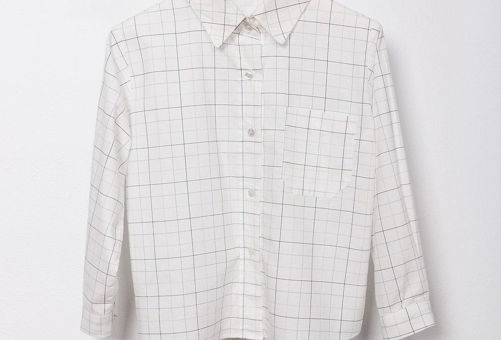 Camisa popelín cuadros Rustic