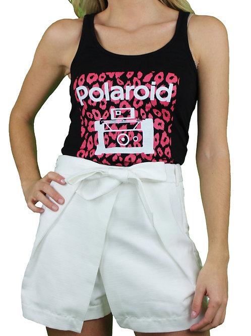 Camiseta Polaroid Leopardo