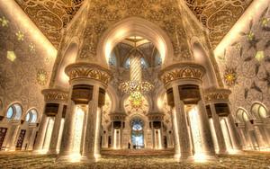 Dünyanın en görkemli cami avizesi - Şeyh Zayed Cami / Abu Dabi