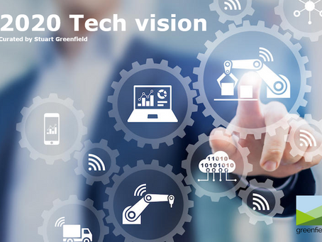 2020 Tech Vision - 10 top digital tips curated from the best - Which are you focused on?