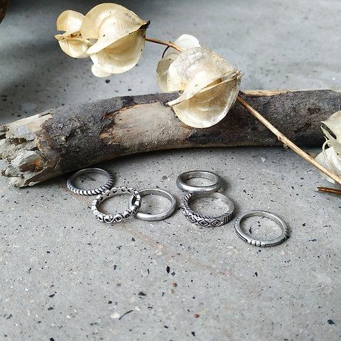 Kit de  6 anillos MINOS