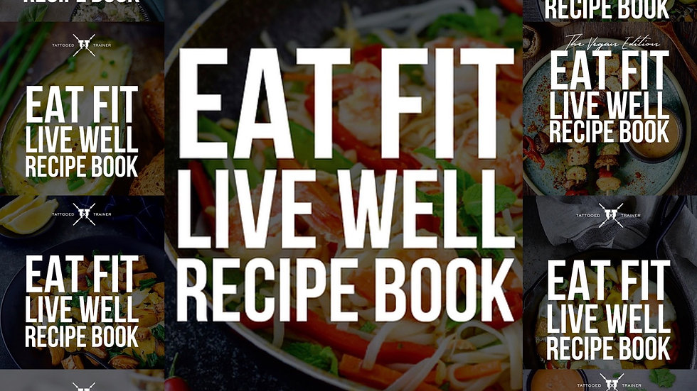 12 Month Recipe Book Subscription