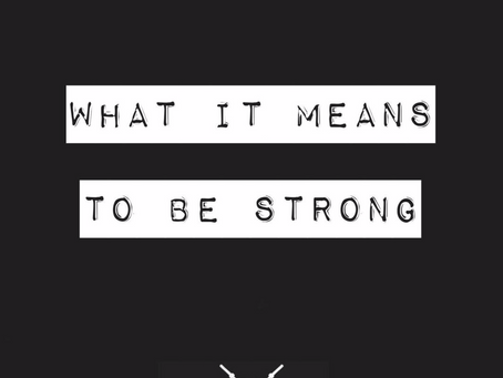 What it means to be strong