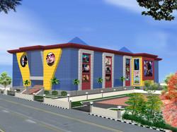 Mall and multiplex design