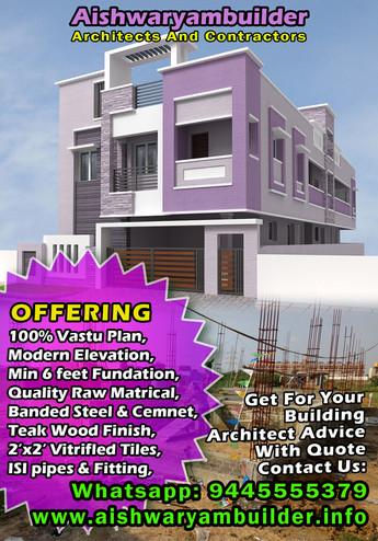 Modern apartment design.