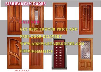 teak wood doors dealer in Chennai, doors wholesale price in Chennai,