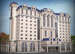 Modern star hotel Design