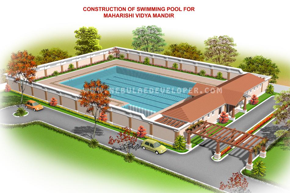 Modern Swmming pool Design