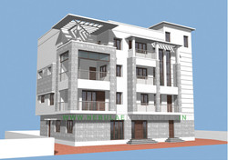 Office Building elevation