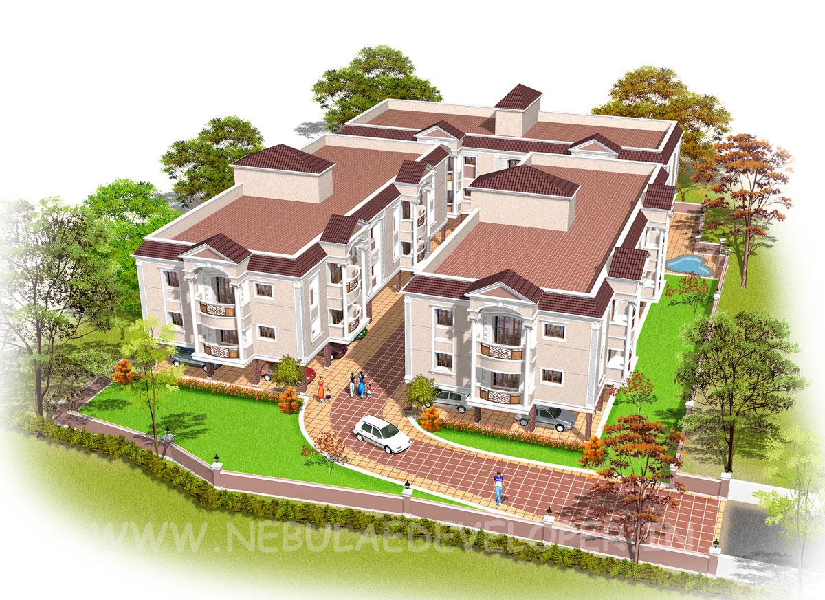 Modern Group Apartment In Chennai