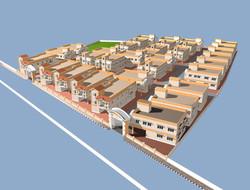 Modern housing view in Chennai
