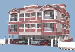 Modern Apartment Design in Chennai