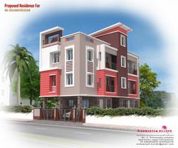 Modern Apartment in Pattukkottai