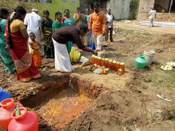 We start new project home construction at Malayambakkam.