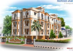 Contemporary Apartment  in Chennai