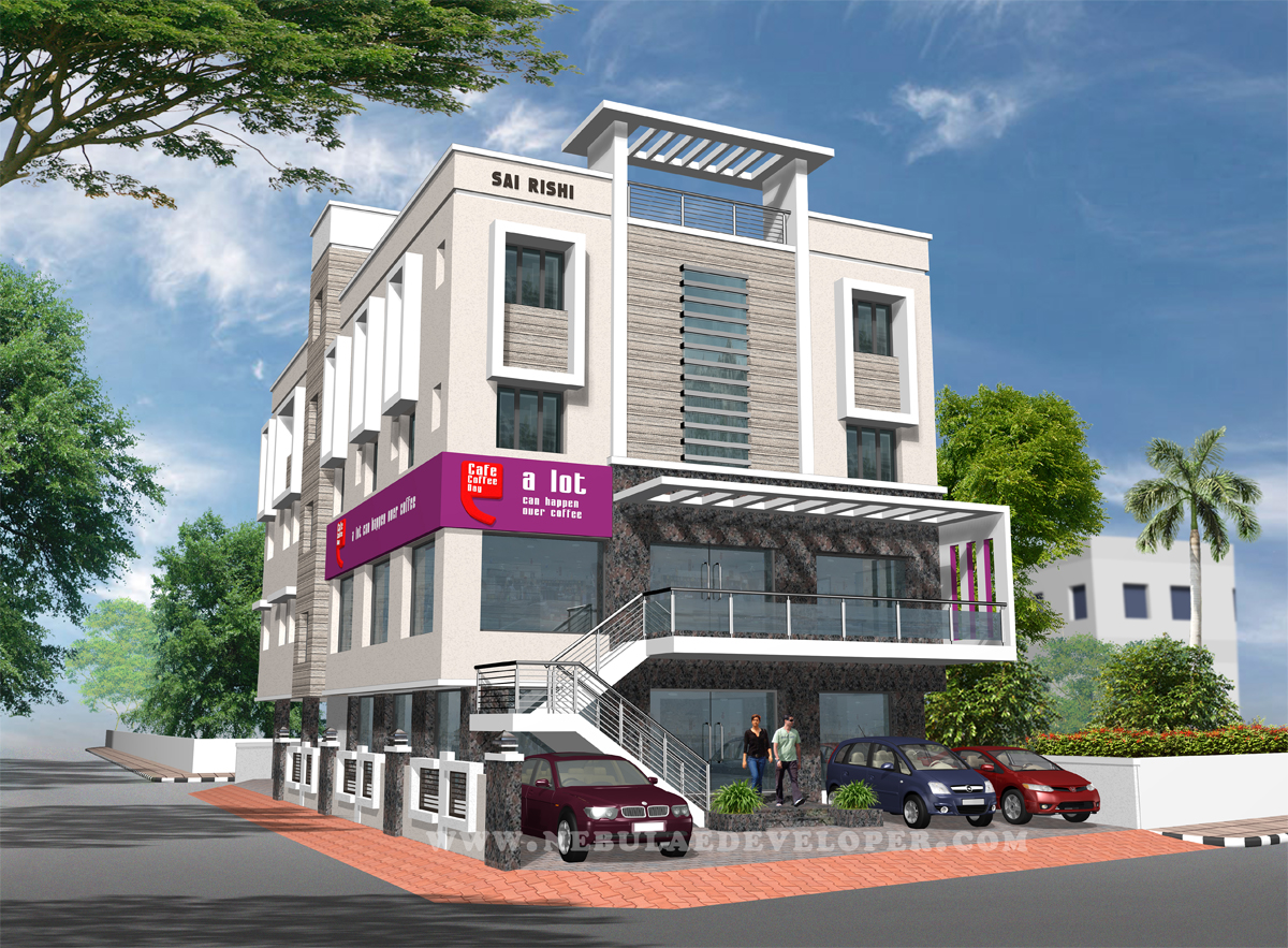 coffee day Building at kanchipuram